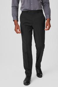 C&A Baukasten-Hose-Tailored Fit-Woll-Mix, Schwarz, Größe: 48