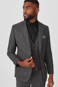 C&A Baukasten-Sakko-Tailored Fit, Grau, Größe: 56