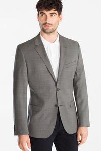 C&A Baukasten-Wollsakko-Tailored Fit, Grau, Größe: 52