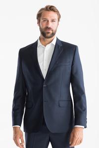 C&A Wollsakko-Tailored Fit, Blau, Größe: 58