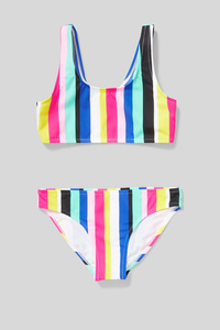 Bikini - 2 teilig - gestreift
