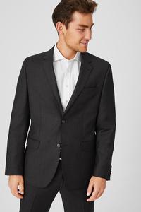 C&A Wollsakko-Tailored Fit, Grau, Größe: 58