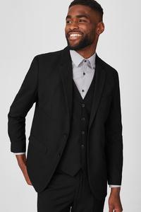 C&A Baukasten-Sakko-Tailored Fit, Schwarz, Größe: 56