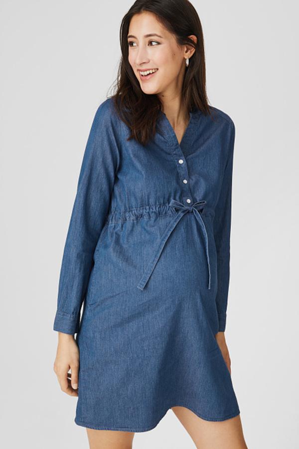 C&A Still-Jeanskleid, Blau, Größe: 46 von C&A für 14,99 ...