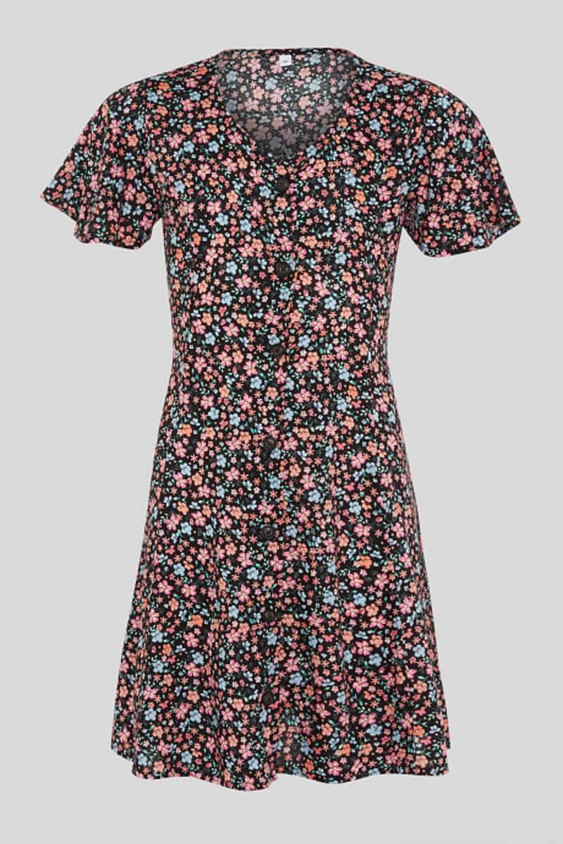 Bild 1 von C&A Kleid, Schwarz, Größe: 158