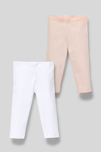 Leggings - Bio-Baumwolle - 2er Pack