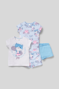 Shorty-Pyjama - Bio-Baumwolle - 2er Pack