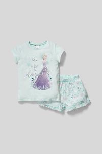 Die Eiskönigin - Shorty-Pyjama - Bio-Baumwolle - 2 teilig