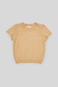C&A Pullover-gestreift, Beige, Größe: 158