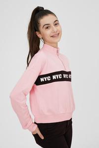 C&A Sweatshirt, Rosa, Größe: 182