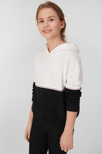 C&A Sweatshirt, Weiß, Größe: 170/176