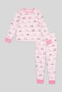 Bild 2 von C&A Pyjama-Bio-Baumwolle-2 teilig, Rosa, Größe: 176