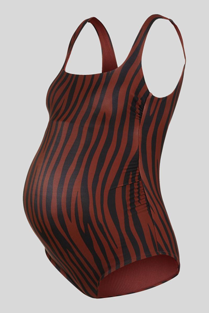 Bild 1 von C&A Umstands-Badeanzug-wattiert, Braun, Größe: 44