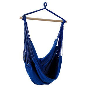 Hängesessel, D:100cm x H:125cm, dunkel-blau