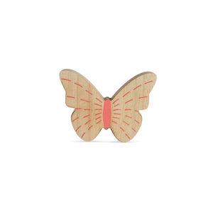 Dekofigur Schmetterling, 13x2x10, lachs