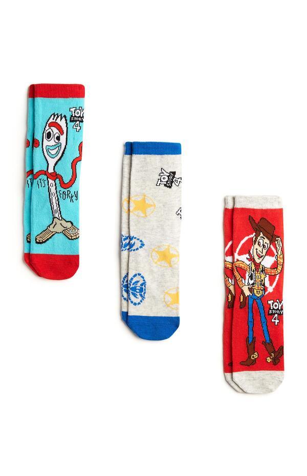 """""""Toy Story"""" Socken in Blau/Rot, 3er-Pack"""