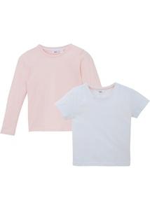 Mädchen T-Shirt + Langarmshirt (2-tlg.), extraweit