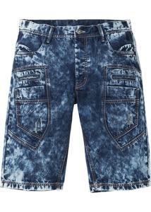 Jeans-Bermuda, Loose Fit