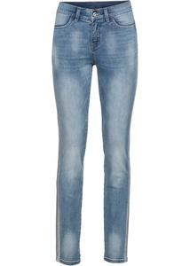 Jeans mit Glitzertape