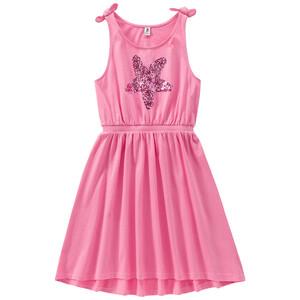 Mädchen Kleid mit Stern-Applikation