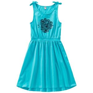 Mädchen Kleid mit Pailletten-Motiv