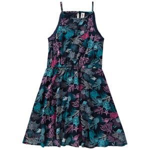 Mädchen Kleid mit Chiffon