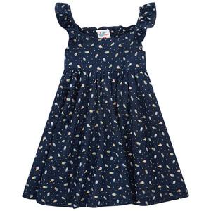 Mädchen Kleid mit Eis-Allover