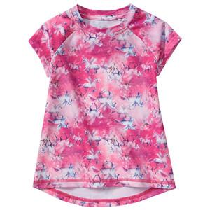 Mädchen Sport-T-Shirt mit Einhorn-Motiv