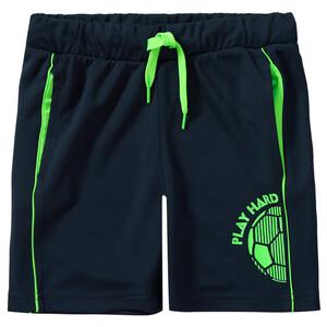 Jungen Sport-Shorts mit Neon-Details