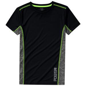 Jungen Sport-T-Shirt mit seitlichen Einsätzen
