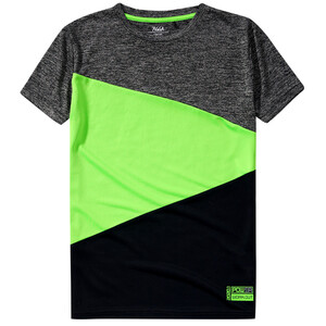 Jungen Sport-T-Shirt mit Colour Blocking