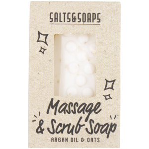 Salts & Soaps Massage- und Peeling-Seife