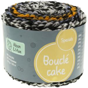Alison & Mae Strickgarn Bouclé Cake