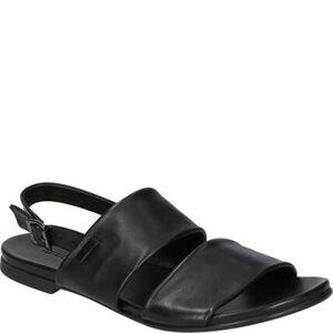 MANGUUN Sandaletten, Leder, Riemchen, für Damen