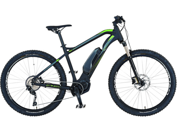 PROPHETE GRAVELER E7SERIES HT 20.ETM.10 Mountainbike (27.5 Zoll, 48 cm, MTB Hardtail, 504 Wh, Schwarz)