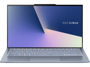 ASUS ZenBook S13 (UX392FA-AB019T) Notebook mit Core i5, 16 GB RAM, 512 GB & Intel UHD Grafik 620 in Utopia Blue