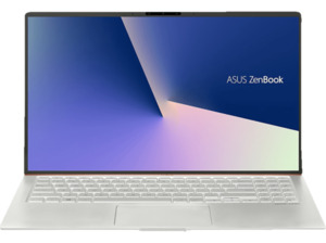 ASUS ZenBook 15 (UX533FD-A8131T) Gaming Notebook mit Core i7, 8 GB RAM, 512 GB & NVIDIA GeForce GTX 1050 MAX Q in Icicle Silver
