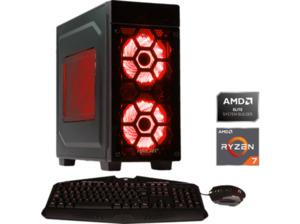 HYRICAN STRIKER 6397 Gaming-PC mit Ryzen 7, 480 GB, Geforce® RTX 2070Super und 16 GB RAM