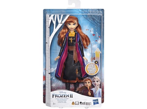 HASBRO Disney Die Eiskönigin Lichtzauber Anna Puppe