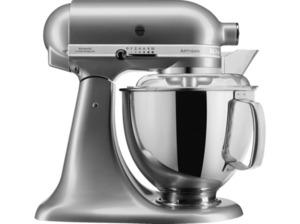 KITCHENAID 5KSM175PSECU Artisan Küchenmaschine Silber 300 Watt