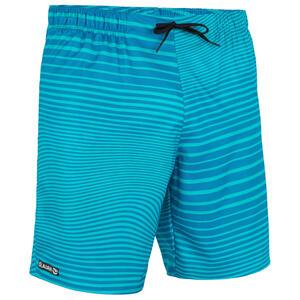 Boardshorts Surfen Standard 100 Newwaves grün