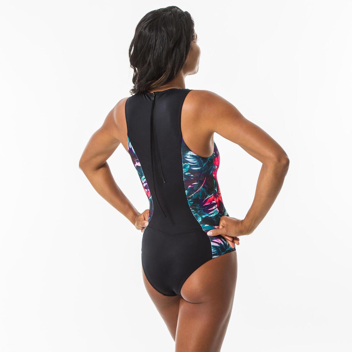 Bild 5 von Badeanzug Carla Foamy bedeckende Form mit Back Zip Damen