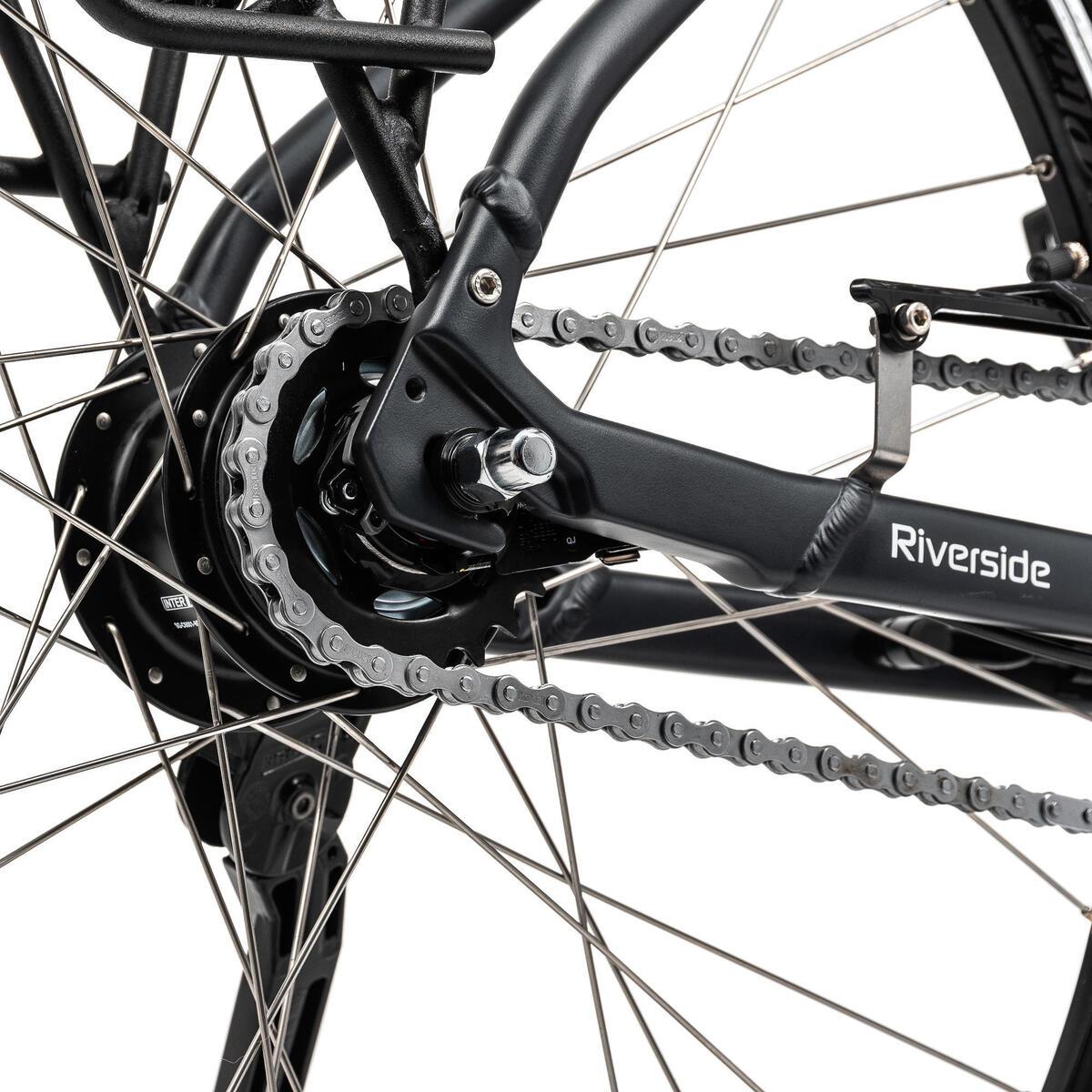 Bild 5 von E-Bike City Bike 28 Zoll Riverside City Nexus 8 Active Plus 400 Wh AVS