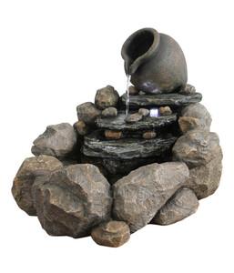 Dehner Polyresin-Gartenbrunnen Florero, ca. B69/H54,4/T57,8 cm
