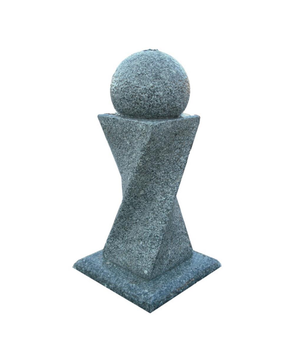 Bild 1 von Dehner Granit-Gartenbrunnen Tower, ca. B56/H90/T56 cm