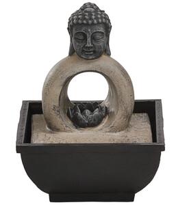 Dehner Brunnen Buddha, rund