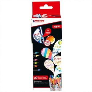 edding Colour Happy Brushpen Set 21-teilig