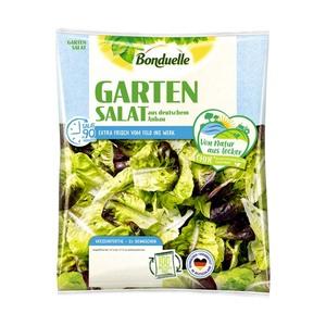 Bonduelle Gartensalat 150 g oder Grillsalat 160 g, Kennzeichnung siehe Etikett, jeder Beutel