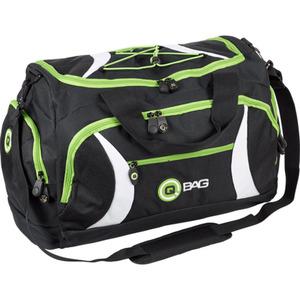 QBag Heck-/Sporttasche 40 Liter Stauraum schwarz/grün schwarz