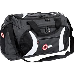 QBag Heck-/Sporttasche 40 Liter Stauraum schwarz/grau/weiß schwarz